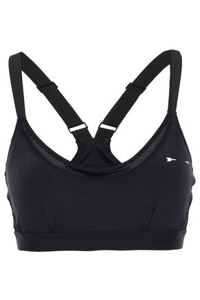 THE UPSIDE Cutout stretch-mesh sports bra