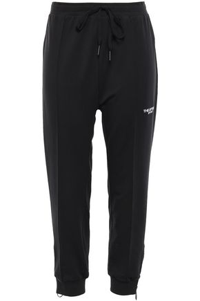 THE UPSIDE French cotton-blend terry track pants