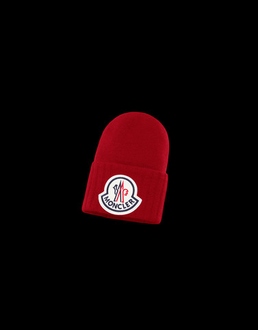 HAT Red Category BEANIES Man