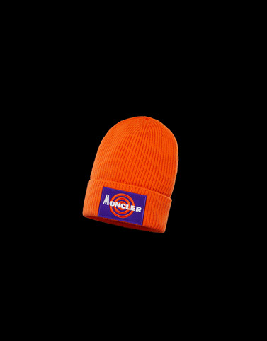 HAT Orange Hats Man