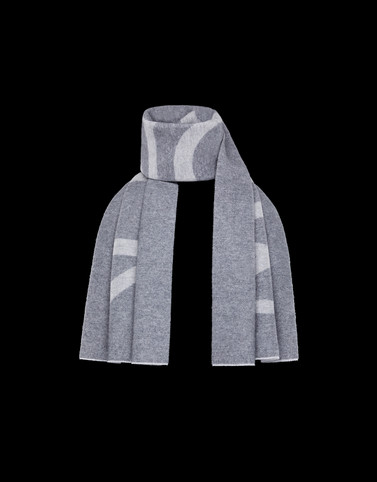 SCARF Grey Category Scarves Man