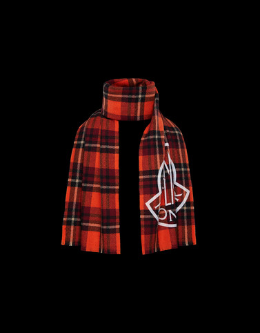 SCARF Orange Category Scarves Man