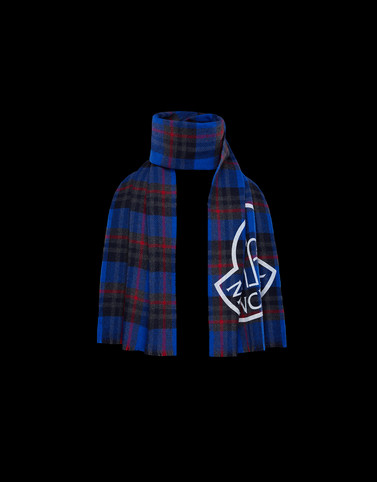SCARF Blue Category Scarves Man