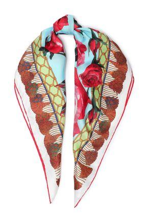 ドルチェ & ガッバーナ プリント シルクツイル スカーフ