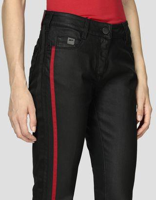 Scuderia Ferrari Online Store - Damenjeans mit Super Skinny-Passform - Jeans
