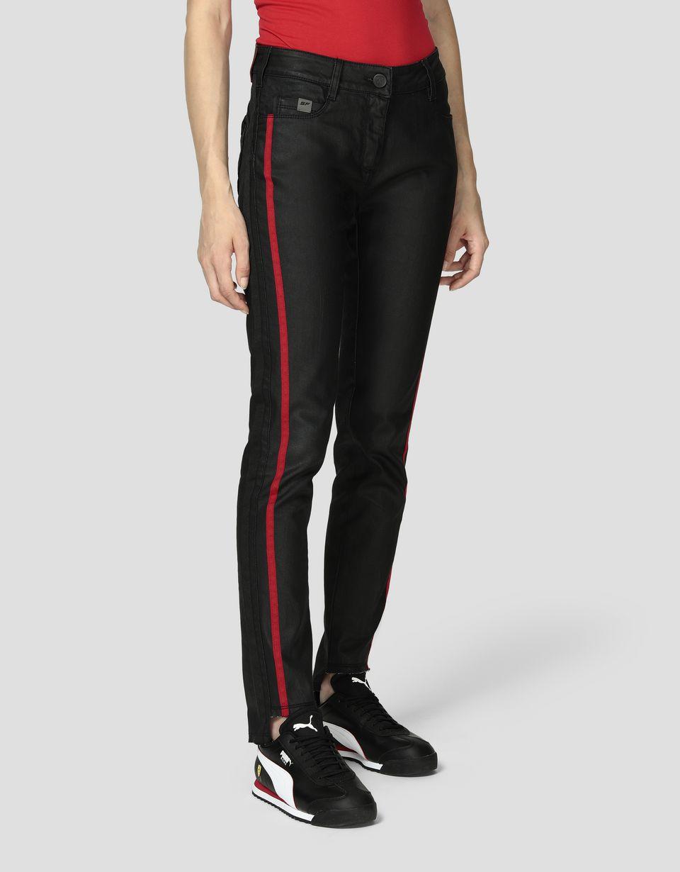 Scuderia Ferrari Online Store - Women's super skinny jeans - Jeans