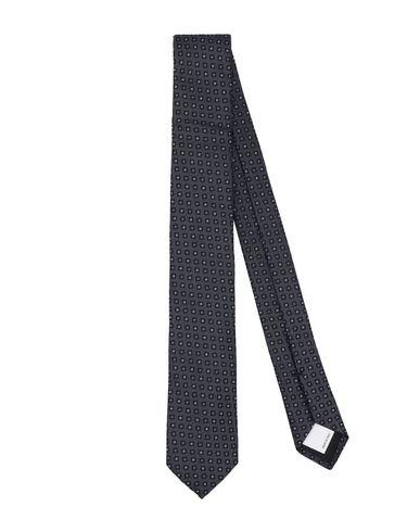 Купить Мужской галстук  свинцово-серого цвета