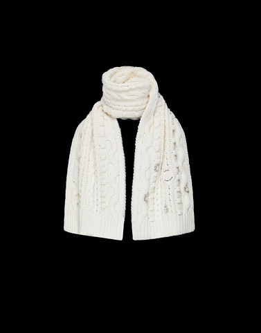 SCARF Ivory Scarves & Gloves Woman