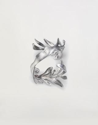 Scuderia Ferrari Online Store - Aluminum laurel wreath bracelet, made in Italy - Pendants & Bracelets