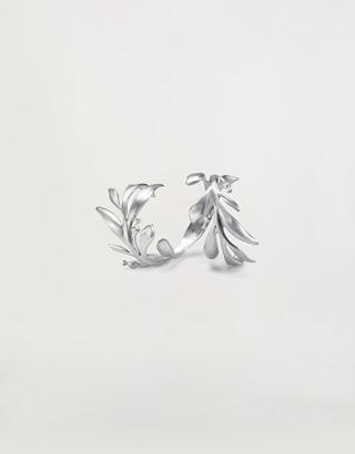 Scuderia Ferrari Online Store - Laurel shape Made in Italy aluminium bracelet - Pendants & Bracelets