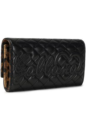 DOLCE & GABBANA Quilted leather continental wallet