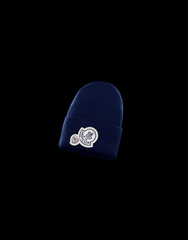 HAT Blue Category BEANIES Man