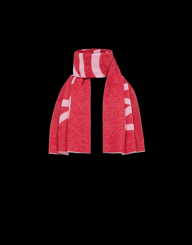 SCARF Red Category Scarves Woman