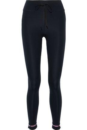 THE UPSIDE Frill Matte ruffle-trimmed stretch leggings