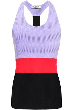 MONREAL LONDON Perforated stretch tank