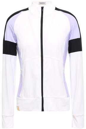 MONREAL LONDON Mesh-trimmed stretch jacket