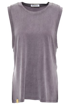 MONREAL LONDON Washed woven tank