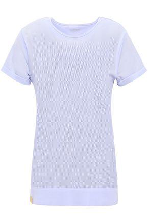 MONREAL LONDON Stretch-mesh T-shirt