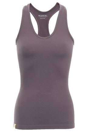 MONREAL LONDON Ribbed stretch tank