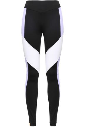 MONREAL LONDON Paneled color-block stretch leggings