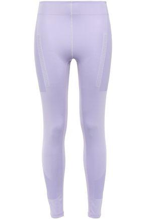ADIDAS by STELLA McCARTNEY Perforated stretch leggings