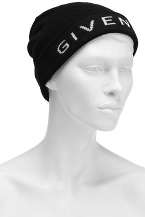 Givenchy Wool Beanie In Black