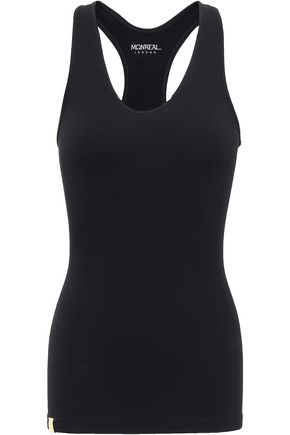 MONREAL LONDON Ribbed-knit stretch tank