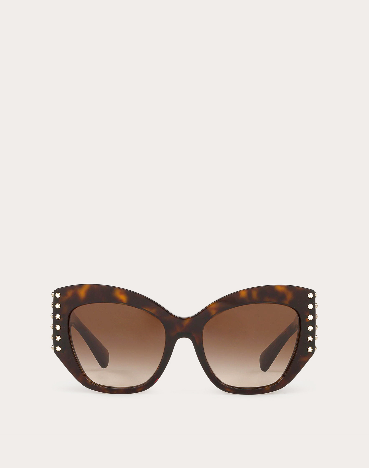 ACETATE SUNGLASSES WITH CRYSTAL STUDS