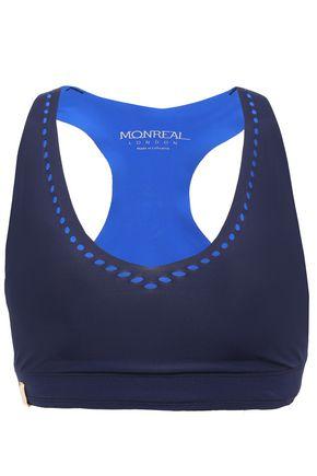 MONREAL LONDON Laser-cut stretch sports bra