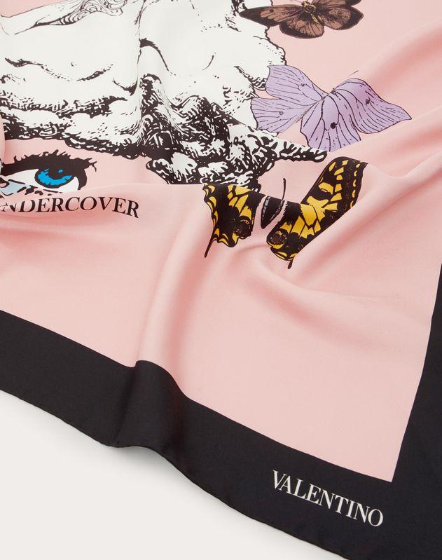 Valentino Undercover scarf 90x90 cm