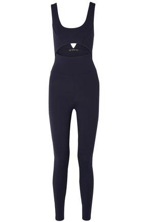 LIVE THE PROCESS Cutout stretch-Supplex bodysuit