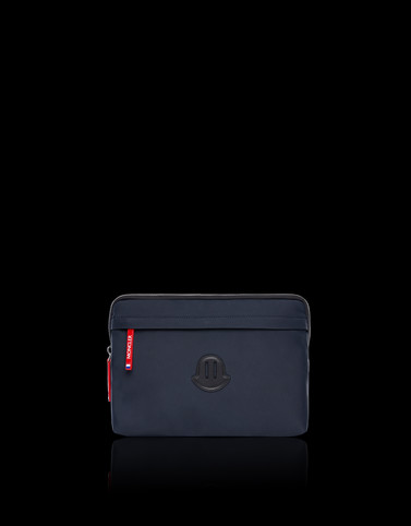 LAPTOP CASE Dark blue Small Leather Goods