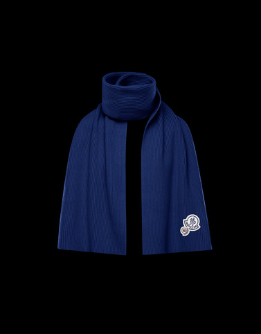 SCARF Dark blue Category Scarves Man