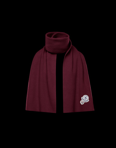 SCARF Bordeaux Category Scarves Man