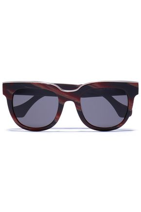 BALENCIAGA D-frame acetate sunglasses