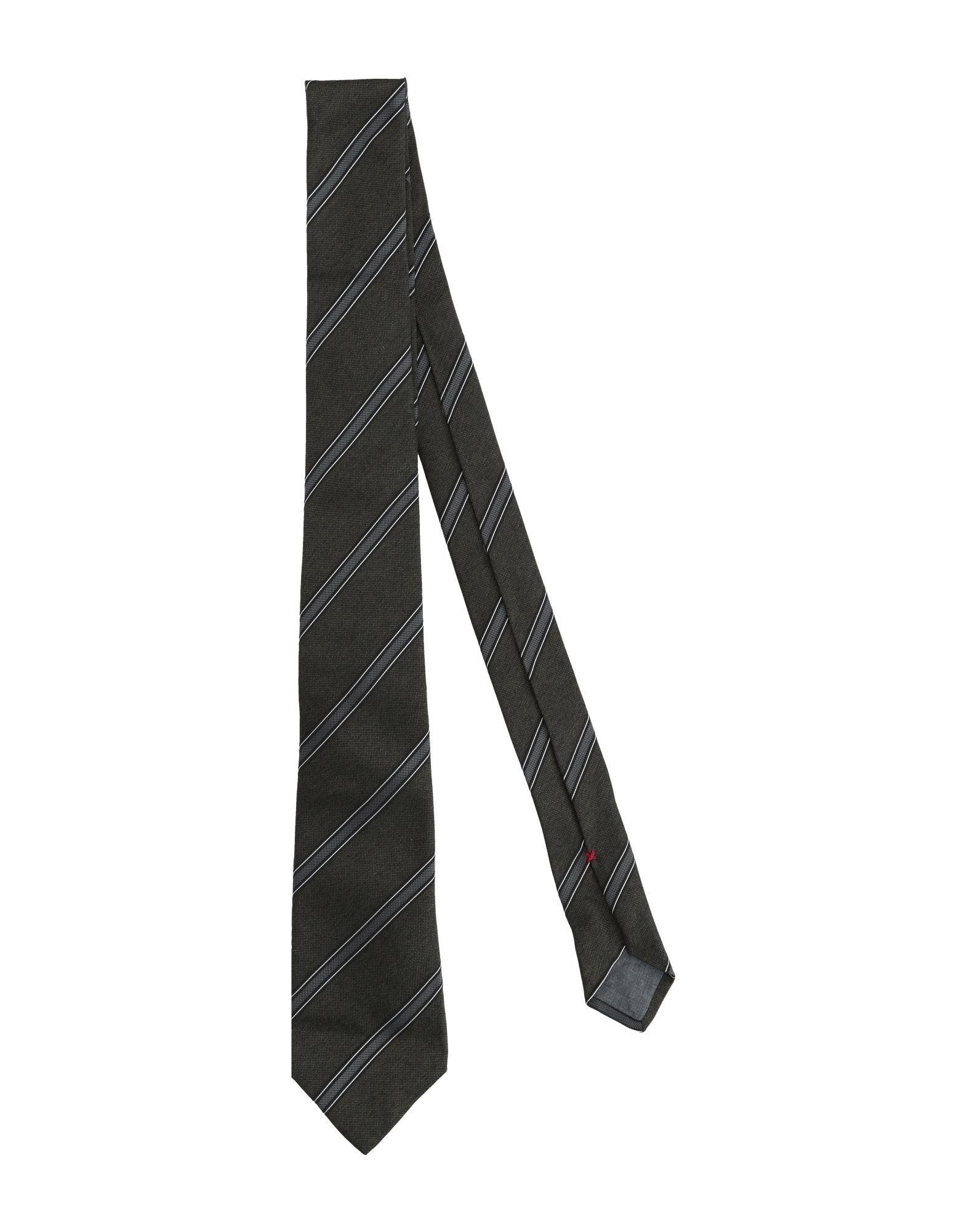 《期間限定セール開催中!》BRUNELLO CUCINELLI メンズ ネクタイ グレー シルク 100%