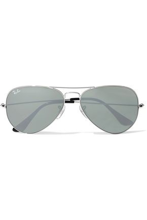 RAY-BAN Aviator-style metal sunglasses