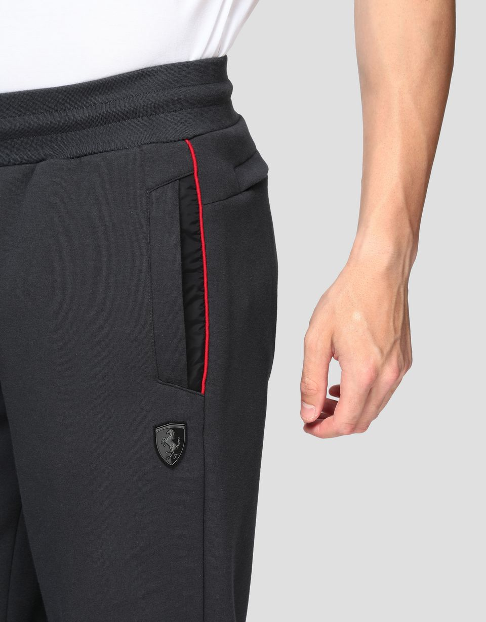 Scuderia Ferrari Online Store - Men's joggers in double knit interlock - Joggers