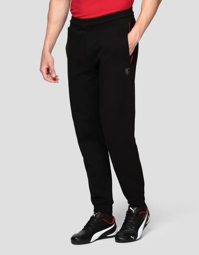 Men's joggers in double knit interlock