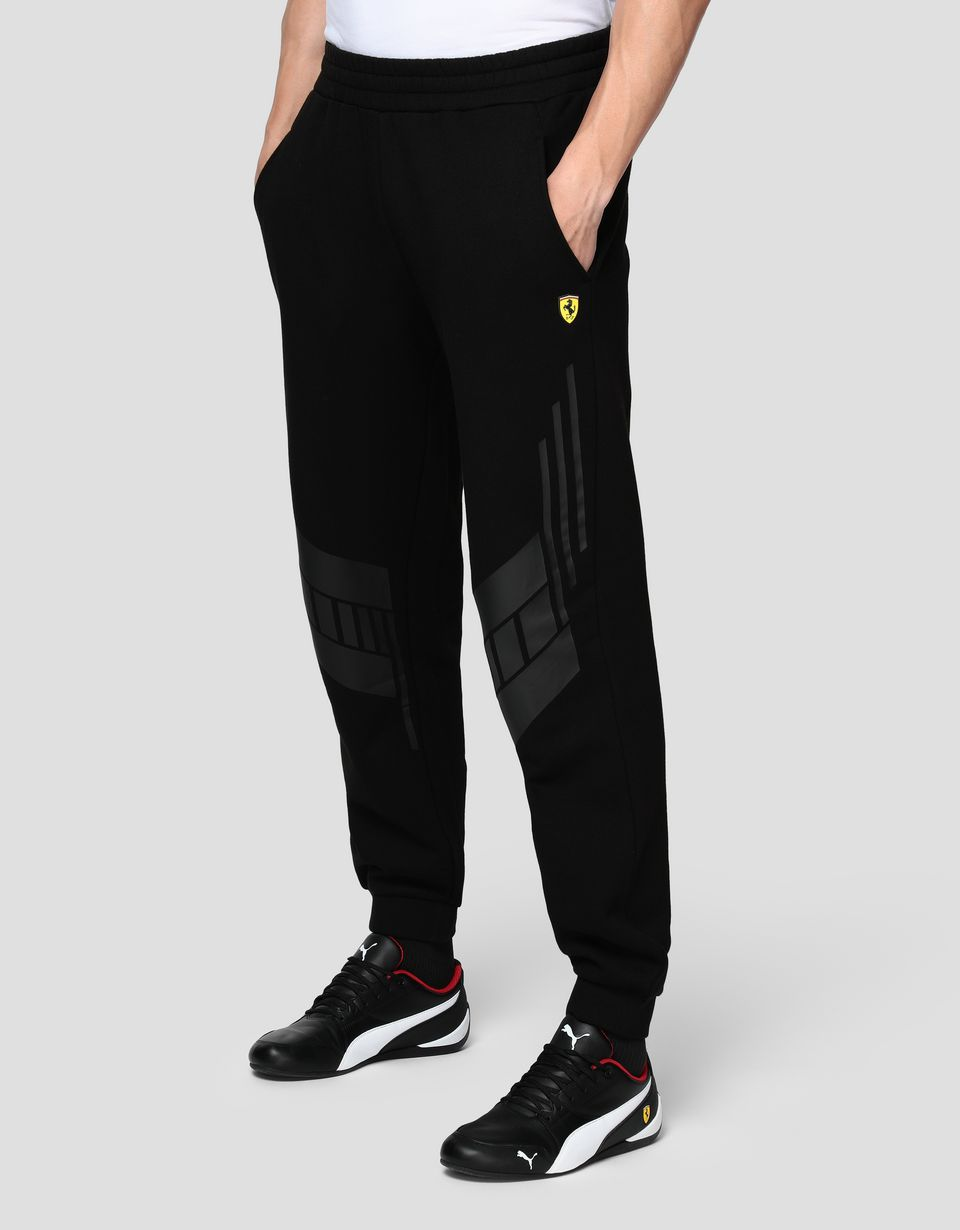 Scuderia Ferrari Online Store - Pantaloni joggers uomo in felpa - Pantaloni da Jogging