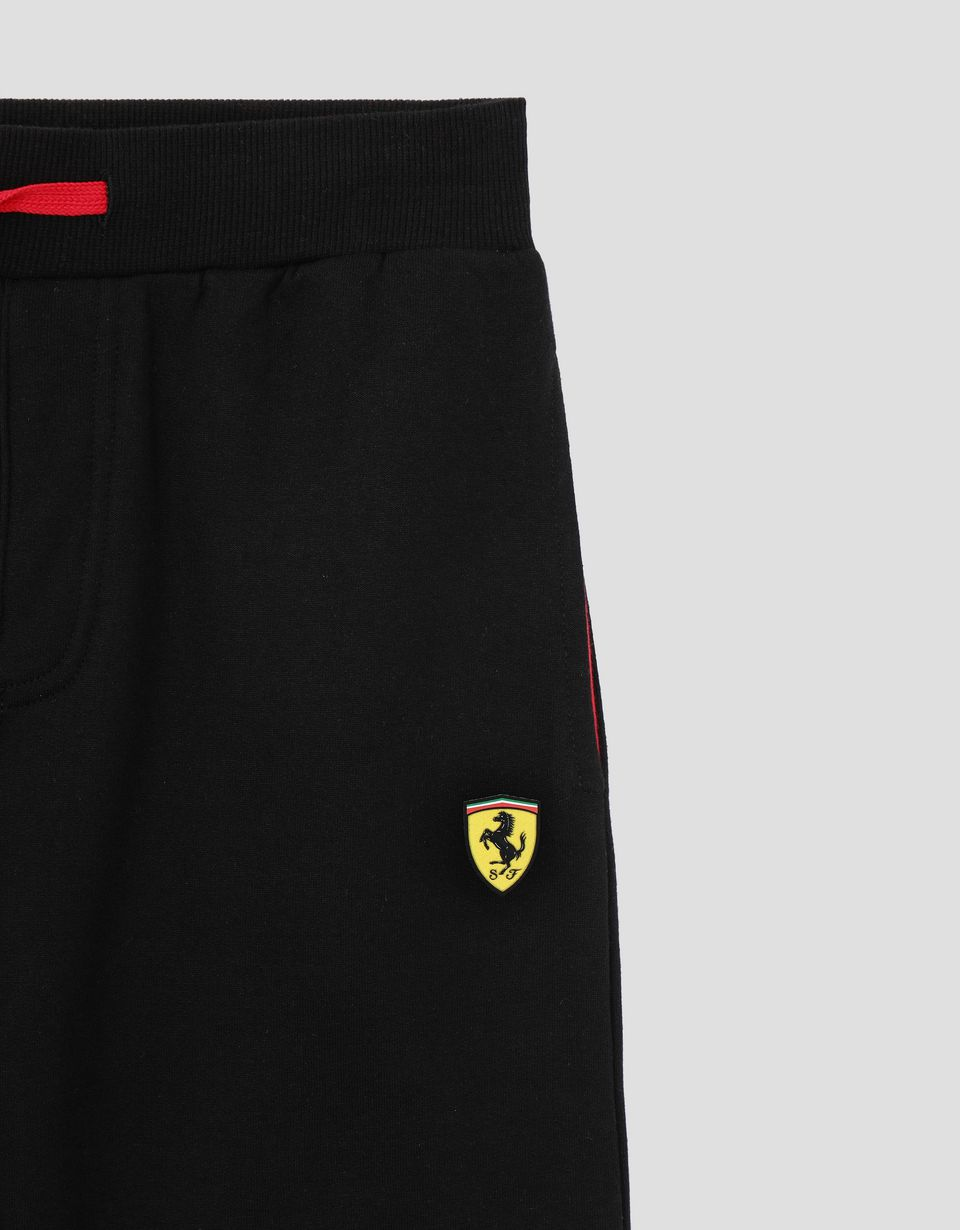 Scuderia Ferrari Online Store - Children's sweatpants with Icon Tape - Joggers