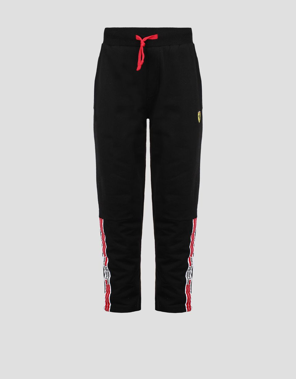 Scuderia Ferrari Online Store - Children's sweatpants with Icon Tape -