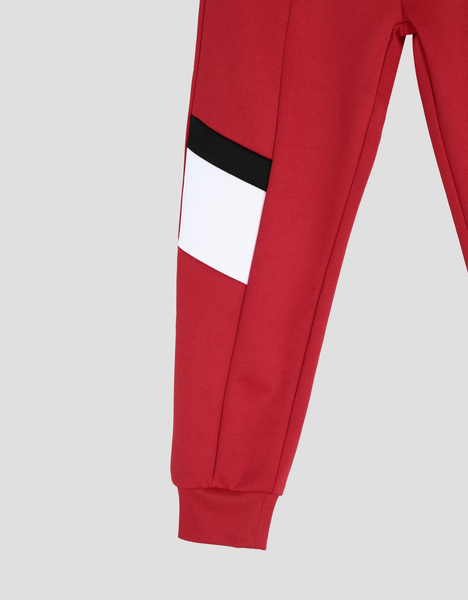 Scuderia Ferrari Online Store - Children's sweatpants with contrasting inserts - Joggers