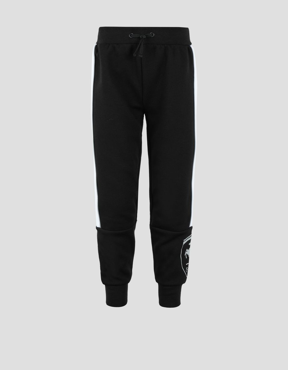 Scuderia Ferrari Online Store - Children's sweatpants with reflective piping - Joggers