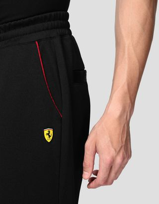 Scuderia Ferrari Online Store - Men's triacetate joggers - Joggers