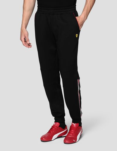 Men's jogging trousers in triacetate