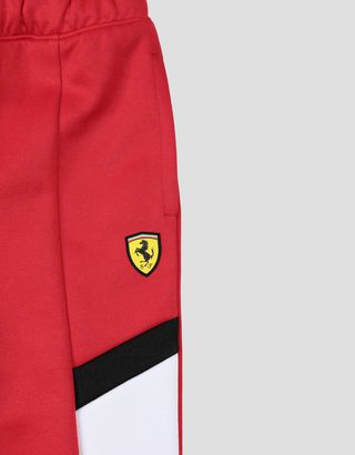 Scuderia Ferrari Online Store - Kids' jogging trousers with contrasting inserts - Joggers