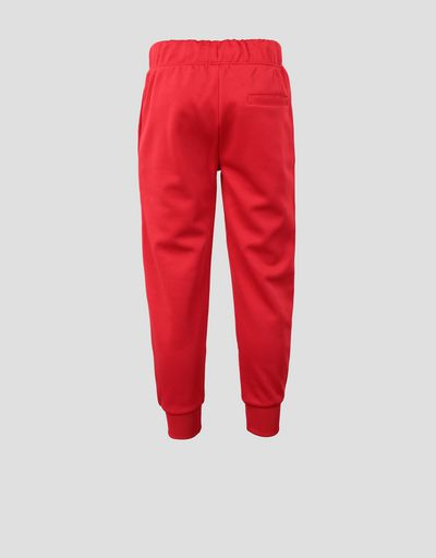 Children's sweatpants with contrasting inserts