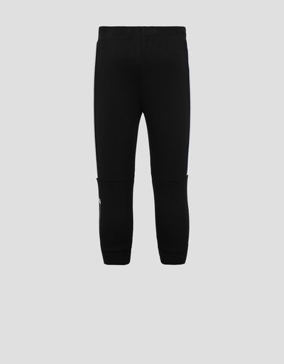 Children's sweatpants with reflective piping