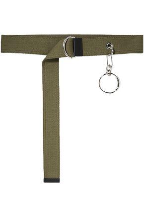 CHLOÉ حزام خصر من الكنفا المزين